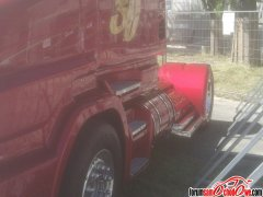 Scania Kabrio z boku