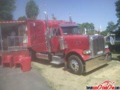 Amerykański Truck z przenośnym barem