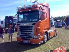 Scania R420 seria z 2011 roku