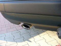 Audi C4 2,3 lśniący wydech!