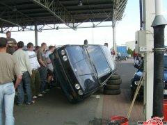 Naprawiamy BMW po nie udanym paleniu gumy..
