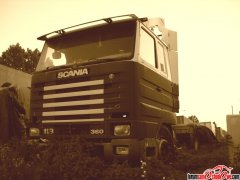 Wrak Scania 113M 360