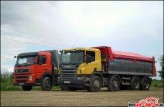 Scania P & Volvo FM